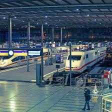Hauptbahnhof München Halle