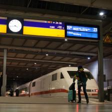 Hauptbahnhof München - ICE nach Hamburg