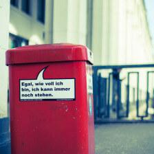 Hamburgs Mülleimer