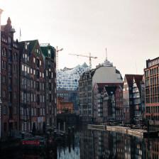 Hamburg - Holzbrücke