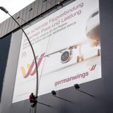 Hamburg Hbf Werbeinstallation