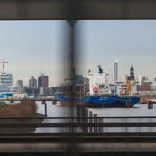 Hamburg Freihafenelbbrücke