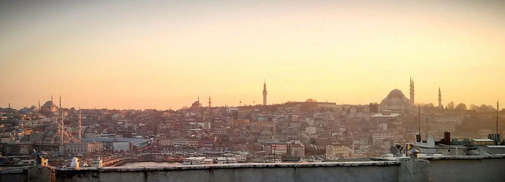 Abendsonne auf Fatih