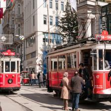 Tram zum Taksim-Platz - Foto: Daniel Potthast