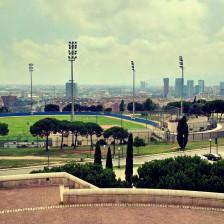 Barcelona Olympiagelände