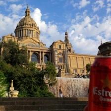 Barcelona und Bier